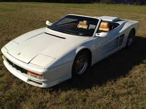 Testarossa Replica For Sale Testarossa Convertible Replica For Sale Special