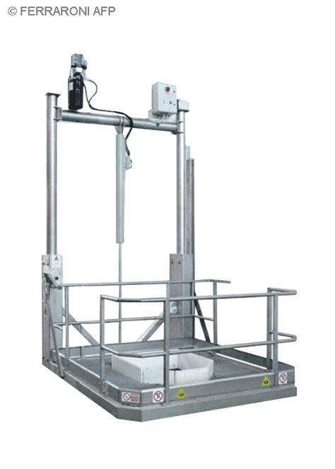 pedane idrauliche ferraroni afp costruzione e progettazione macchine e