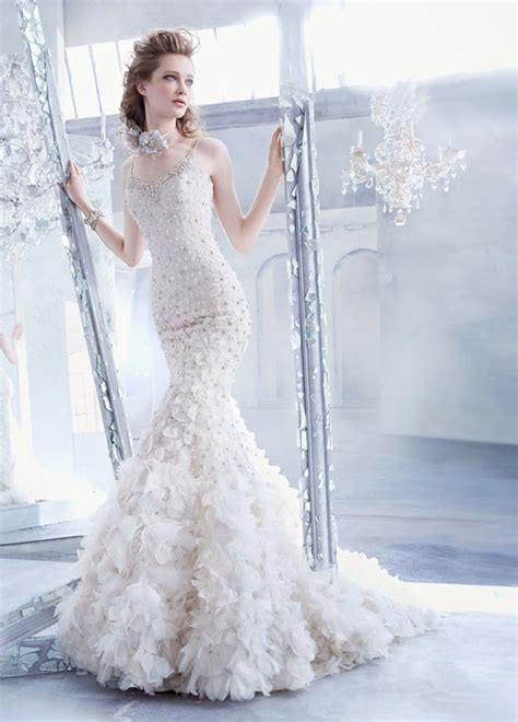 lazaro fall 2014 bridal collection magazine