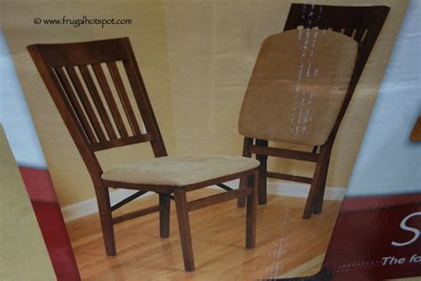 Wood Folding Chairs Costco by Costco Sale Stakmore Solid Wood Folding Chair 24 99