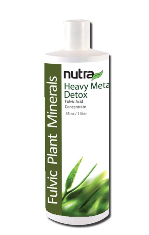 Detox Doctor Fulvic Acid by Plant Minerals Heavy Metal Detox Barley Ultimate Heavy