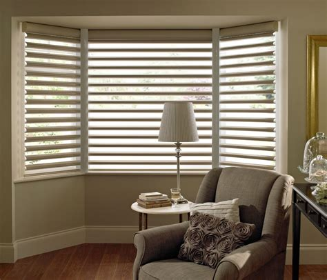bay window shades treatments for bay window blinds