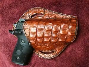 Handmade Leather Pistol Holsters - custom leather gun holsters