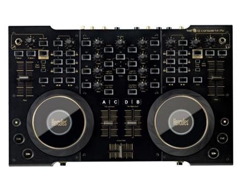 hercules dj console 4 mx dj controller hercules dj console 4mx black controller midi usb per dj