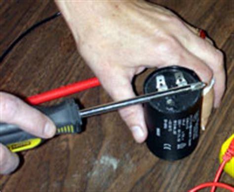 testing shorted capacitor electricmotorrepair