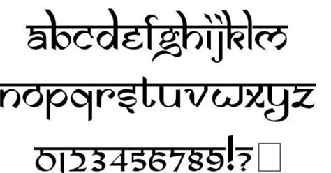 tattoo fonts hindi english style font fonts fonts