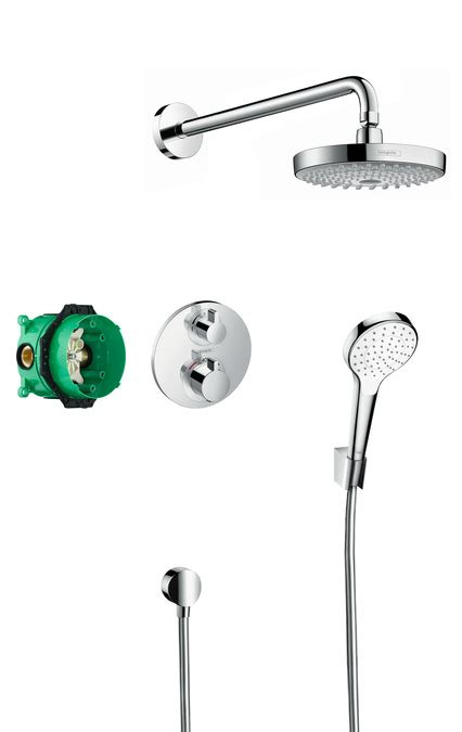Bath Shower Mixer hansgrohe shower sets croma select s design showerset
