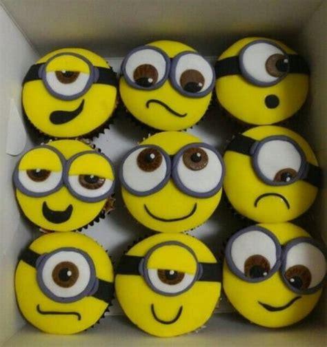 imagenes minions cupcakes postres de minions cocinadelirante