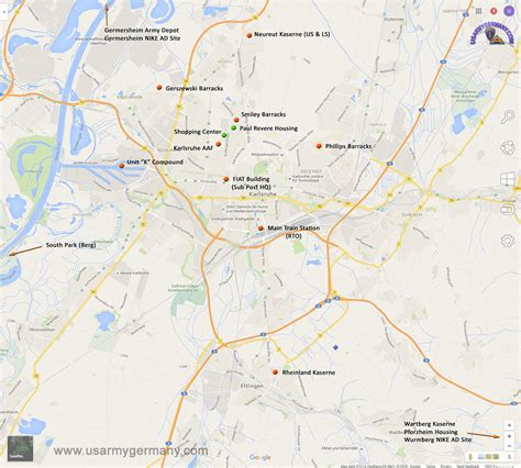map of us bases in germany what are the army bases in germany search results