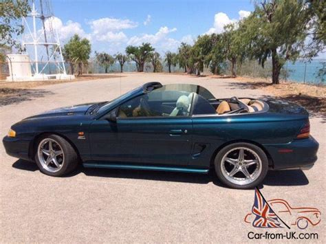 1994 mustang gt for sale 1994 mustang gt convertible v8