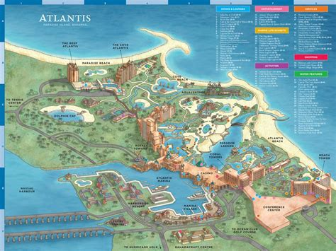 atlantis bahamas map atlantis resort map maplets
