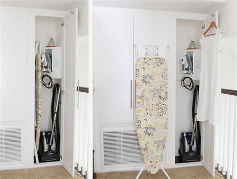 Ironing Closet by Out Ironing Closet How To Maximize A Small Space