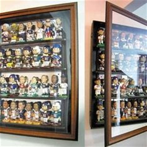 bobblehead wall display wall niche design ideas for displaying artwork and