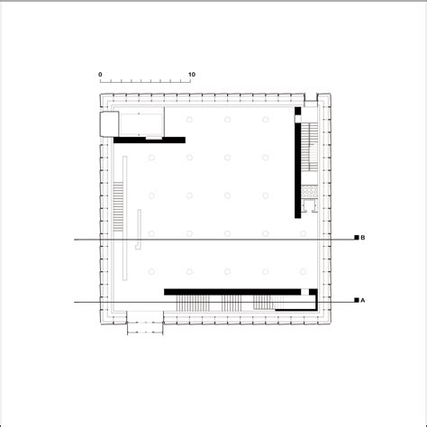 New Floor Plan by Case Study Kunsthaus Bregenz Floorplan Marcello Schiffino
