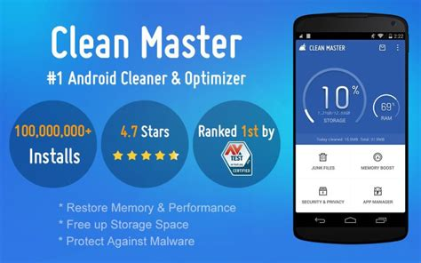 clean master app for android 15 best cleaning apps for android