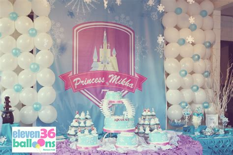 frozen themed party venue frozen themed party balloon decoration ideas party theme