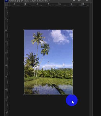 cara membuat animasi gif dengan photoshop ids cara memutar layer di photoshop sekaringidep