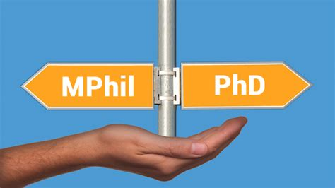 Difference Masters And Mba by Mphil Vs Phd What To Pursue After Masters