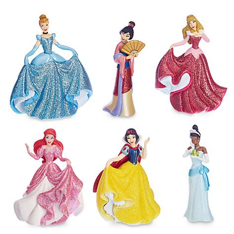 Disney Set Princess disney princess figure play set disney store
