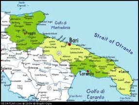 map of foggia italy wheelchairholiday accommodations italy foggia