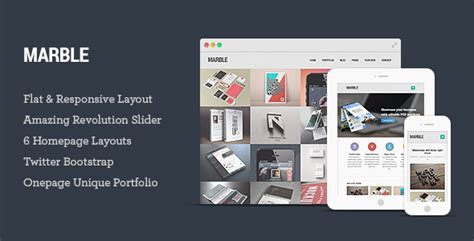 themeforest preview image size site templates marble flat responsive html5 template