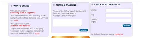 cek resi jne 2016 cekresi co id cara cek kiriman menggunakan jne aribowo net