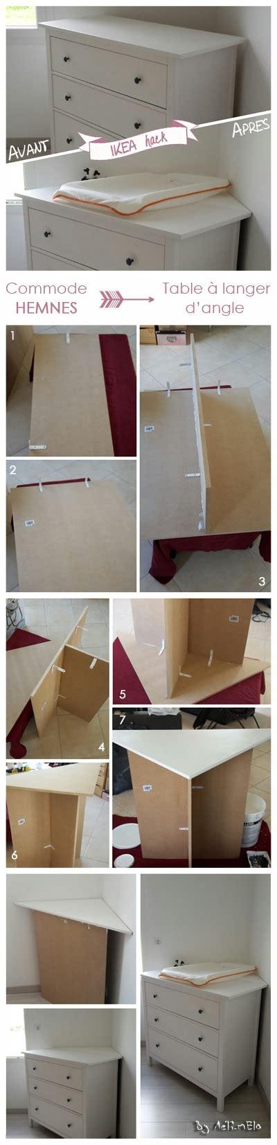 cr馥r sa chambre ikea table a langer dangle maison design wiblia com