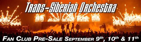 trans siberian orchestra fan trans siberian orchestra gt gt 2015 fan pre sale