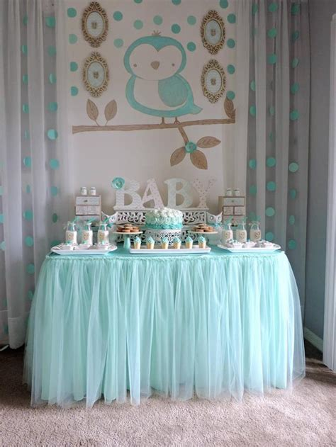 welcome home party decorations kara s party ideas turquoise owl quot welcome home baby quot party
