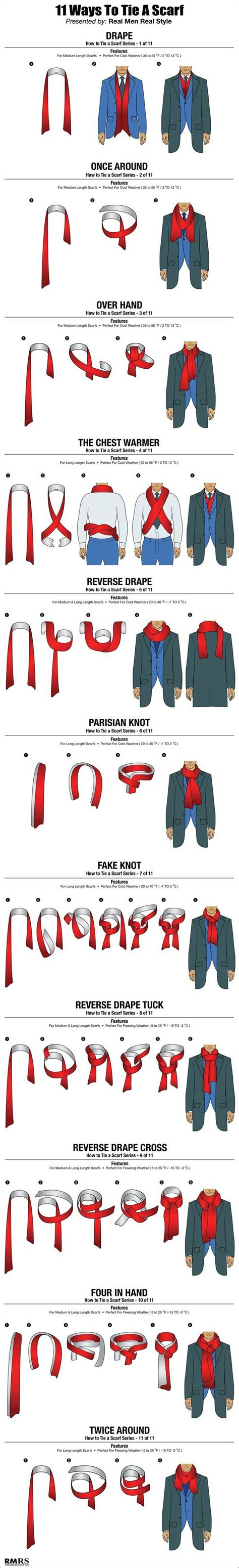 11 ways a guy can tie his scarf the huffington post 25 best images about dress for success men on pinterest
