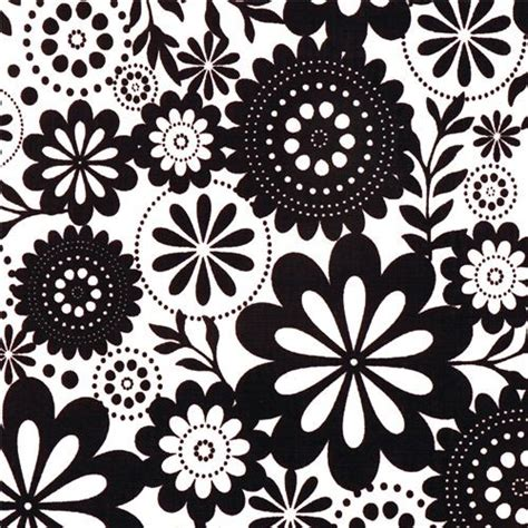 flower design laminates white riley blake flower laminate fabric evening blooms