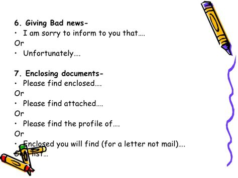 business letter enclosed you will find business writing skills asmita