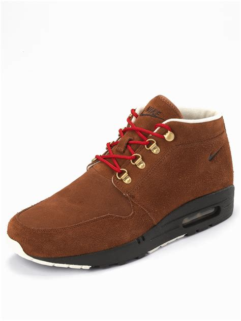 nike nike wardour max 1 mens boots in brown for lyst