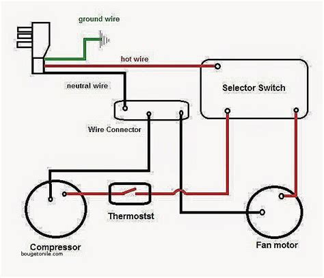 central ac diagram wiring diagram with description