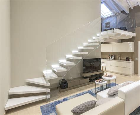 scale interne sospese roversi scale progettazione e realizzazione di scale