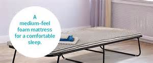 Compact Folding Single Guest Bed Argos Guest Beds Go Argos
