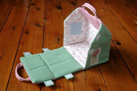 fabric doll house leftleg designs fabric doll house