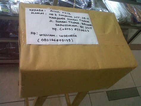 bukti pengiriman paket internasional luar negeri dari spbumiliter spbu militer
