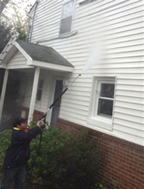 how to clean spider webs from house siding siding cleaning sure shot pressure washing