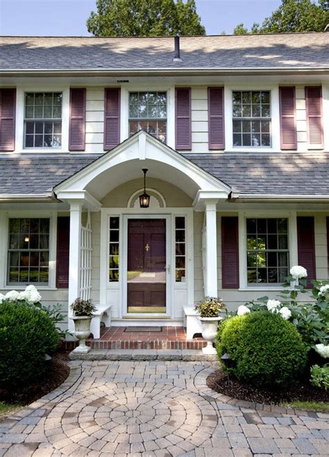 portico on colonial house 207 best images about exterior house ideas on pinterest