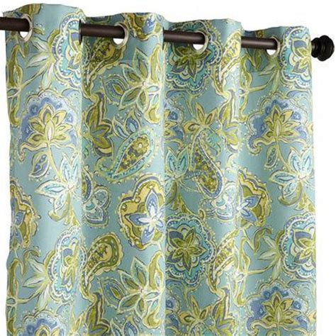 pier one outdoor curtains outdoor curtain uv treated rust proof loftonaire floral