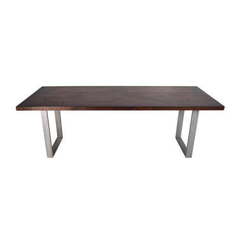 Modern Dining Table Wood 53 Modern Solid Wood Dining Table Tables