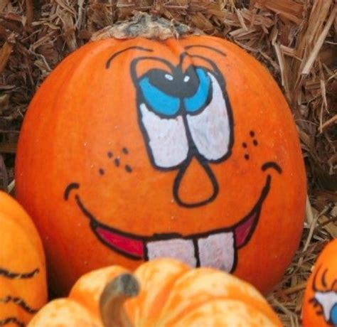 faces on pumpkins 41 best images about painted pumpkin faces on
