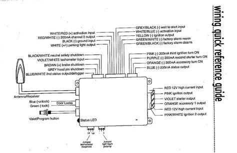 bulldog vehicle wiring diagrams vehicle schematics wiring