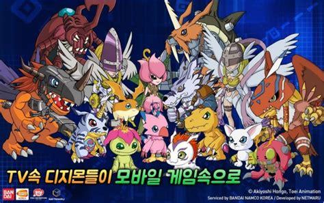 Play Store Korea Digimon Soul Chaser Korean Play Store Launch Kongbakpao