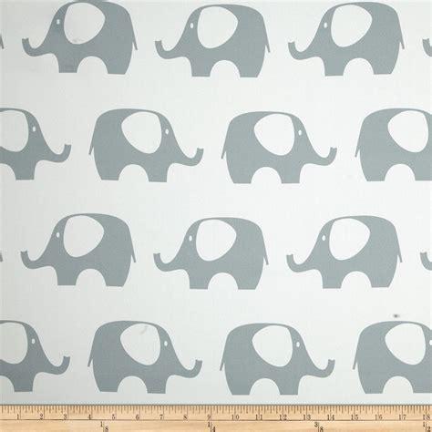 Elephant Upholstery Fabric by Rca Elephant Blackout Drapery Fabric Grey Discount