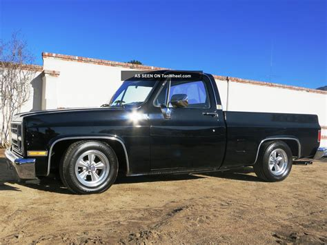 silverado short bed black 1986 chevy silverado short bed fleet size