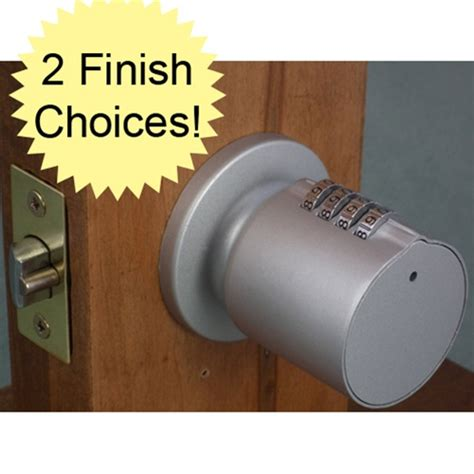 Door Knob Combination Lock by Bump Proof Keyless Combination Door Knob Lock