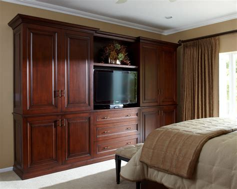 Wardrobe Units For Bedroom Custom Mahogany Wardrobe Storage Wall Unit