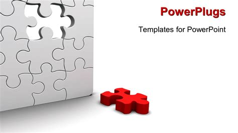 Powerpoint Template A Number Of Puzzle Pieces Together Free Puzzle Powerpoint Template